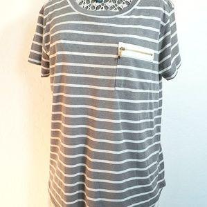 Company Ellen Tracy Striped Tshirt